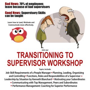 Transitioning to Supervisor Workshop